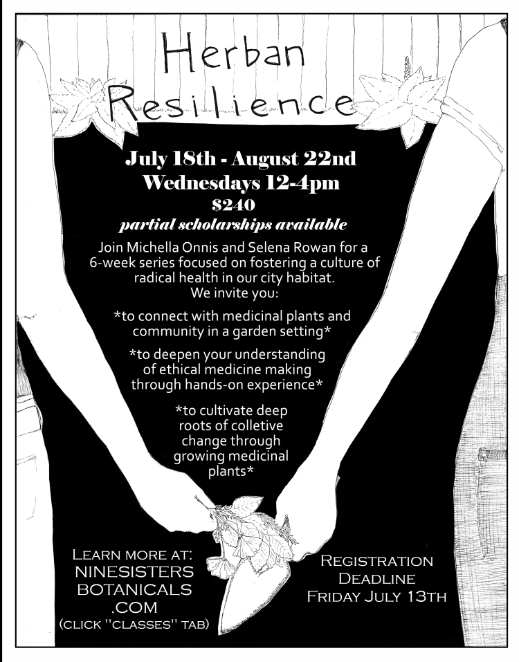 Herban Resilience flyer 6-23-18